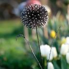FLEUR D'AIL Fleur en métal recyclé